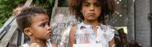 Illustrasjonsbilde av fattige barn. Foto: Colourbox